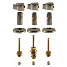Indiana Brass* 3 Valve Rebuild Kit with 1663D Diverter