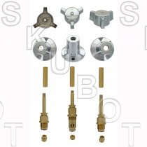 Central Brass* Short #078 Rebuild Kit 3 Valve