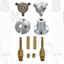 Central Brass* Short #078 Rebuild Kit 2 Valve
