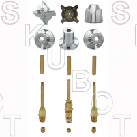 Central Brass Long #073 Rebuild Kit 3 Valve