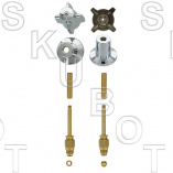 Central Brass* New Style Rebuild Kit 2 Valve