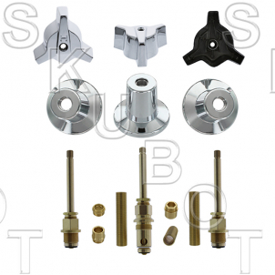 Central Brass* 3 Valve Tub & Shower Rebuild Kit