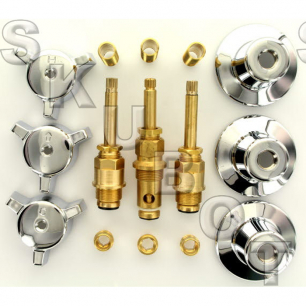 Central Brass Short #078 Rebuild Kit 3 Valve