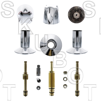 Harcraft* 3 Valve Rebuild Kit