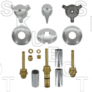 Indiana Brass* 3 Valve Rebuild Kit with D Broach Diverter