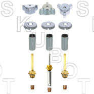 Indiana Brass* 3 Valve Rebuild Kit with 1660D Diverter