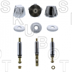 Michigan* 3 Valve Tub & Shower Rebuild Kit