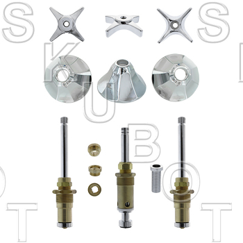 Speakman* 3 Valve Tub & Shower Rebuild Kit