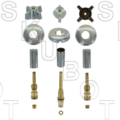 Sterling Rockwell* #331 Short Stem Rebuild 3 Valve Kit