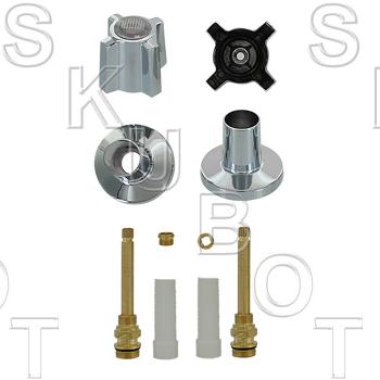 Sterling Rockwell* #332 Long Stem Rebuild 2 Valve Kit