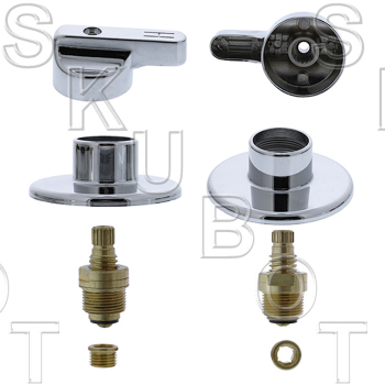 Streamway* 3 Valve Tub & Shower Rebuild Kit