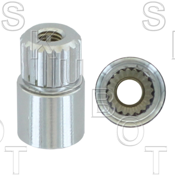 Stem Extension for T&S Brass* 20 Point Internal to 20 Point