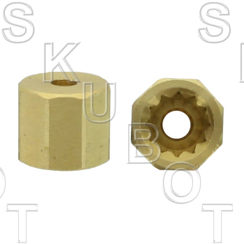 Handle Adapter for Symmons* 12 Point Solid Brass