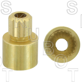 Handle Adapter for American Standard* 22 Point Internal to 12 Po