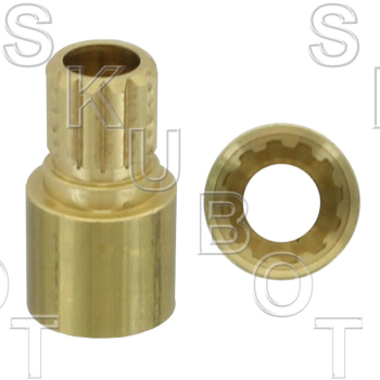 Handle Adapter for Price Pfister* 12 Point Internal to 12 Point