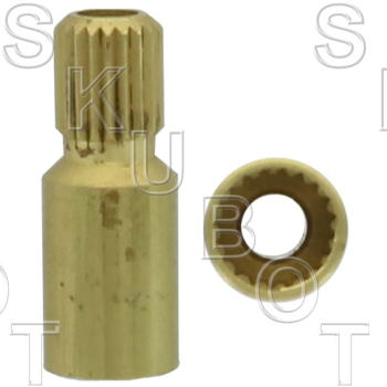 Handle Adapter for European* 20 Point Internal to 20 Point