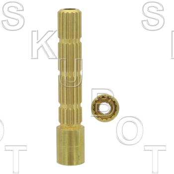Stem Extension for Sayco* to Harden*  16 Point Internal to 16 Po