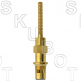 Artistic Brass*/Dolly Trim* Repl Cer Disc Cart -Cold<BR>Rare