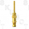 Artistic Brass*/Dolly Trim* Repl Cer Disc Cart -H/ C<BR>Rare