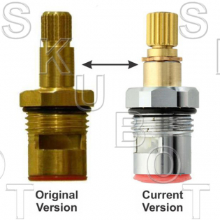 Areslux* Replacement Ceramic Disc Cartridge -Hot or Cold