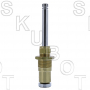"Broadway* Repl Tub & Shower Stem + 1/2""Chrome -LH Cold"