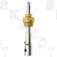 Central Brass* Replacement Diverter Stem<BR>Rare