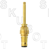 Central Brass* Replacement Stem -RH Hot or Cold<BR>Rare