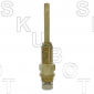 Dorf* Replacement Ceramic Disc Cartridge -Hot or Cold -Pol Brass