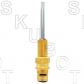 Dorf* Replacement Ceramic Disc Cartridge -Cold -Chrome