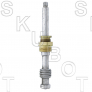 Glauber* Replacement Tub & Shower Stem -RH H/C -W/Ser Broach
