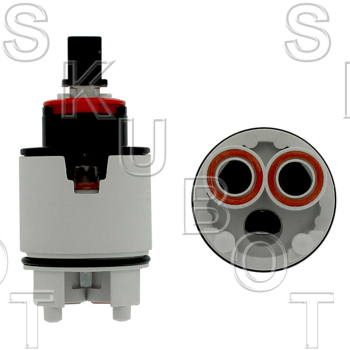 Hydroplast*/ Kohler* Single Lever Ceramic Cartridge