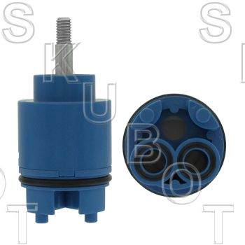 Import Joystick Single Control Ceramic Cartridge 35mm