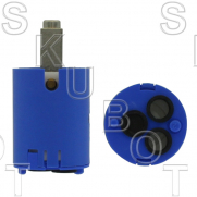 Vola* Single Control Cartridge:10-24 Handle Screw