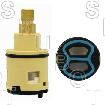 Square Broach Import Rotary Diverter Cartridge