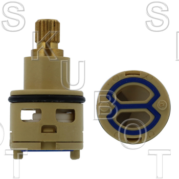 Import Rotary Diverter Cartridge W/ Serrated Broach