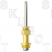 Royal Brass* Replacement Tub & Shower Stem -RH Hot or Cold