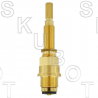 Sign of the Crab* Hot or Cold Replacement Stem -Pol Brass