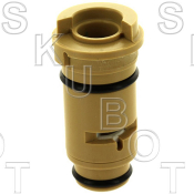 Wolverine Brass* Replacement Cer Disc Cartridge Less Stem