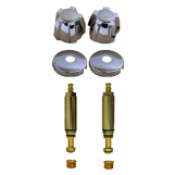 Michigan Brass* 2 Valve Tub & Shower Rebuild Kit w/ Short Stems
