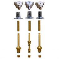 Royal Brass* 3 Valve Tub & Shower Rebuild Kit with One Piece Tri