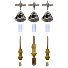 Royal Brass* 3 Valve Tub & Shower Rebuild Kit with Old Style Tri