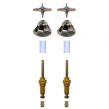Royal Brass* 2 Valve Tub & Shower Rebuild Kit with Old Style Tri